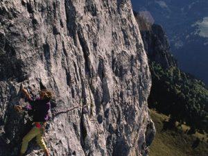 Rocher de Leschaux : La Motte (L3 : 6a+) - Photo Claude Gardien ©